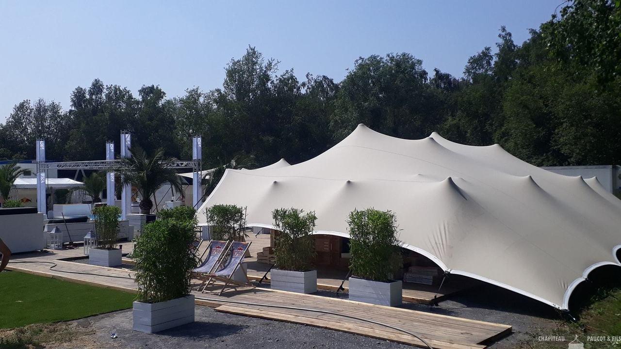 Chapiteaux Paucot et fils - Nos tentes stretch