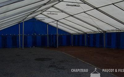 Chapiteaux Paucot et fils - Chapiteau 15m