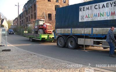 Chapiteaux Paucot et fils - Nos véhicules